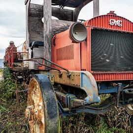 GMC Milk Truck  by Joann Long