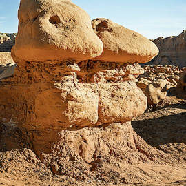 Goblin Duo Goblin Valley State Park Utah by Joan Carroll