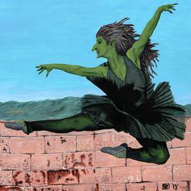 Goblin Girl Ballet Dancing by Ted Helms