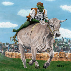 Goblin Rider Ox Racer by Ted Helms