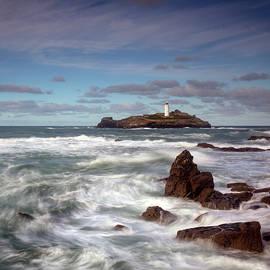 Godrevy Lighthouse - 2 by Alex Donnelly