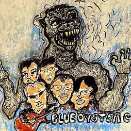 Godzilla Blue Oyster Cult by Geraldine Myszenski