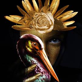 Golden Bird eye  by Gull G