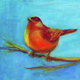 Golden bird of Fantasy by Karen Kaspar