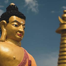 Golden Buddha by Martin Vorel Minimalist Photography