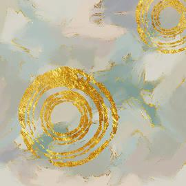 Golden Circles by Nancy Merkle