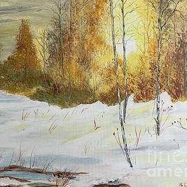 Golden Fall by Inez Ellen Titchenal