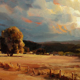 Golden Field by Steve Henderson