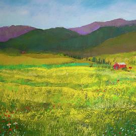 Golden Fields by David Patterson