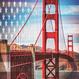 Golden Gate Bridge San Francisco California  by Carol Japp