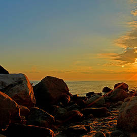 Golden Hour - Cape Cod Bay by Dianne Cowen