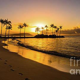 Golden Kahala Sunrise by Phillip Espinasse