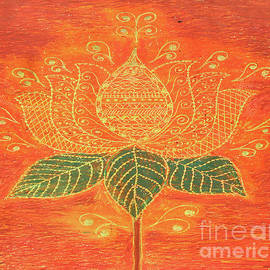 Golden Lotus by Pallavi Sharma