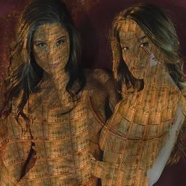 Golden Phoebe Sisters by Stephane Poirier