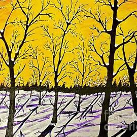 Golden Shadows by Jeffrey Koss