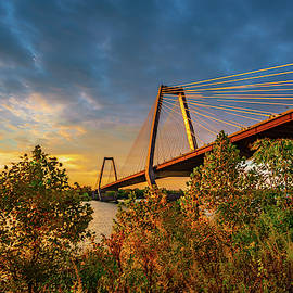 Golden Sunlight On The Bridge by Steven Ainsworth