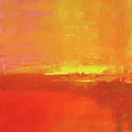 Golden Sunset by Nancy Merkle