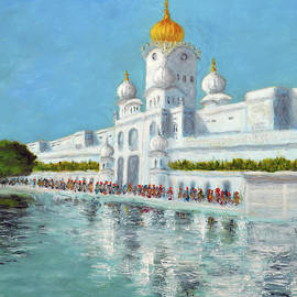 Golden temple Series 4 by Uma Krishnamoorthy