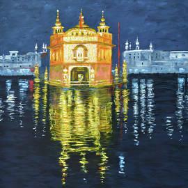 Golden Temple series 7 by Uma Krishnamoorthy