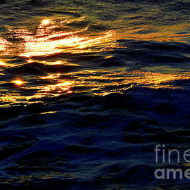 Golden Wave #2 by Robyn King