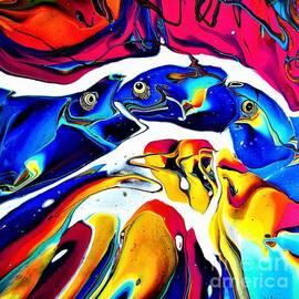 Goldfish by Dmitri Ivnitski