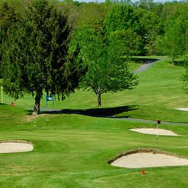 Golf Course at Massanutten Resort by Arlane Crump