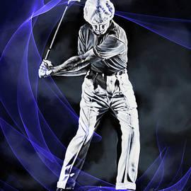 Golf Swing Energy 2 by Hanne Lore Koehler
