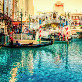 Gondola ride on Grand Canal Las Vegas by Tatiana Travelways