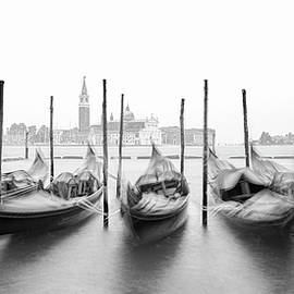 Gondolas of Venice by Travel Image