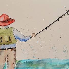 Gone Fishin' by Terry Feather