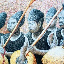 Gongola Traditional Musicians by Olusola David Ayibiowu