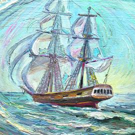 Good luck sea by Sergei Kotlobai
