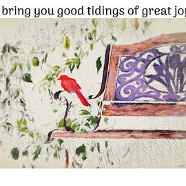 Good Tidings Luke 2 by Diane Lindon Coy