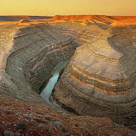 Gooseneck State Park Utah II by Joan Carroll