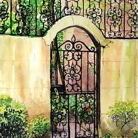 Gordon St Gate by Merana Cadorette