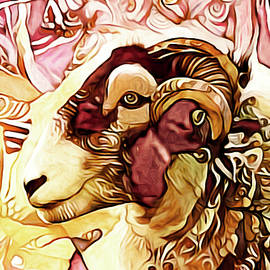 Got His Eye on Ewe by Susan Maxwell Schmidt