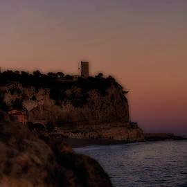 gradient sunset Liguria Italy by Rita Di Lalla