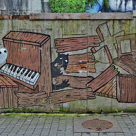 Graffiti. Secret door. by Andy Za