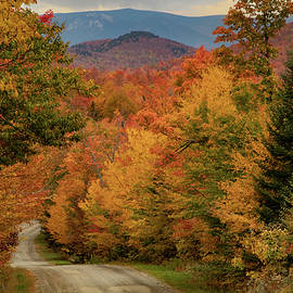 Granby Road in Granby Vermont by Jeff Folger