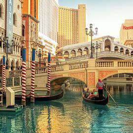 Grand Canal at Venetian Las Vegas by Tatiana Travelways
