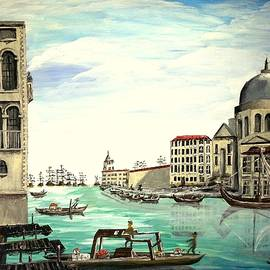 Grand Canal Venice by Irving Starr