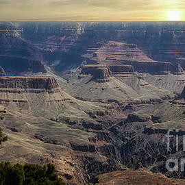 Grand Canyon Lum Collection IV Color  by Chuck Kuhn