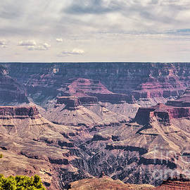 Grand Canyon Raw Color  by Chuck Kuhn