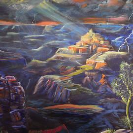Grand Canyon Storm by Chance Kafka