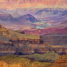Grand Canyons South Rim  by Joy McAdams