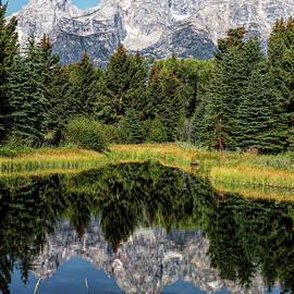 Grand Teton Reflection by Stephen Stookey