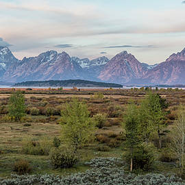 Grand Tetons at Sunrise from Willow Flats, No. 2 by Belinda Greb