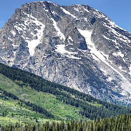 Grand Teton's Mt Moran and Slope by Michael Kirsh