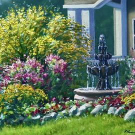 Grandma's Fountain by Rick Hansen