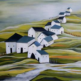 Grandma's village by Aniko Hencz